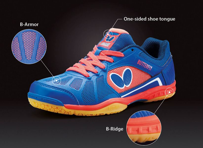 Butterfly Table Tennis Shoes • Mr. Wong