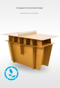 Cardboard Ping Pong Tables