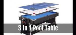 Combination Pool Ping Pong Tables