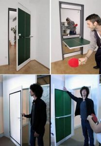 Door Ping Pong Tables