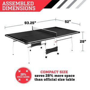 Espn 2 Piece Ping Pong Tables