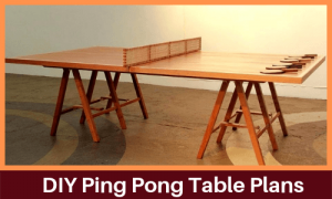 Foldable Ping Pong Tables Top