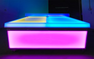 Light Up Ping Pong Tables