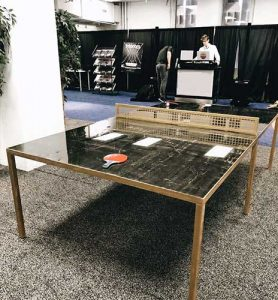 Lucite Ping Pong Tables