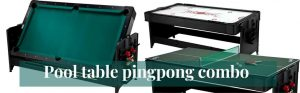 Ping Pong Tables And Pool Tables…