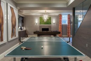 Ping Pong Tables Lighting