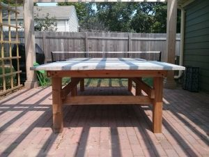 Plywood Ping Pong Tables