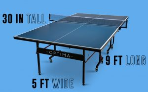 Stiga Optima Ping Pong Tables