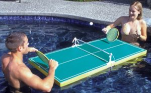 Swimming Pool Ping Pong Tables