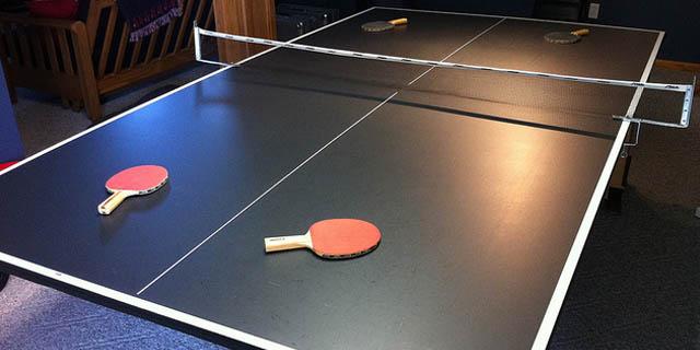Inside Mesa ping pong