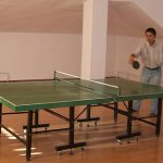 Space needed to play ping pong at home